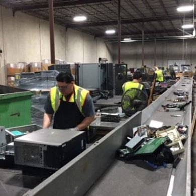 Houston small business introduces state-of-the-art technology for electronics recycling